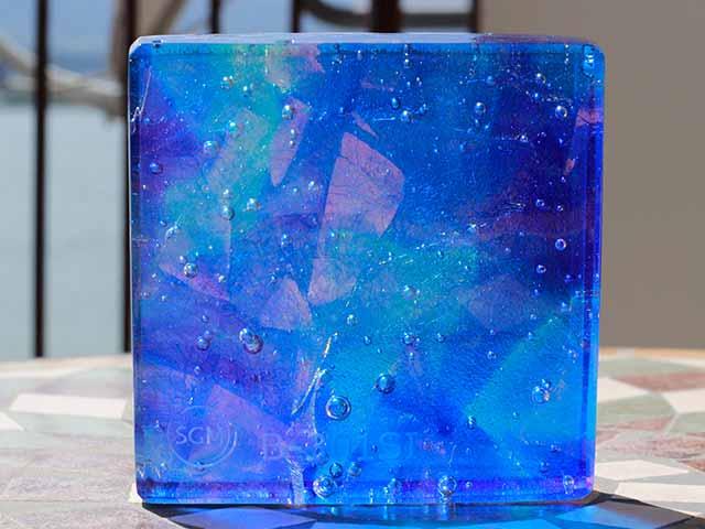 アートガラス 積層ガラス